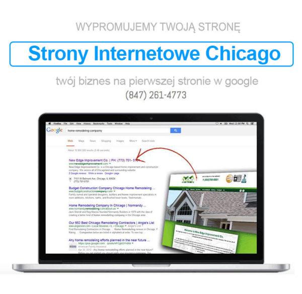 Strony Internetowe Chicago – Projektowanie i Pozycjonowanie SEO